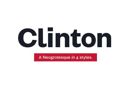Clinton Free Type Family