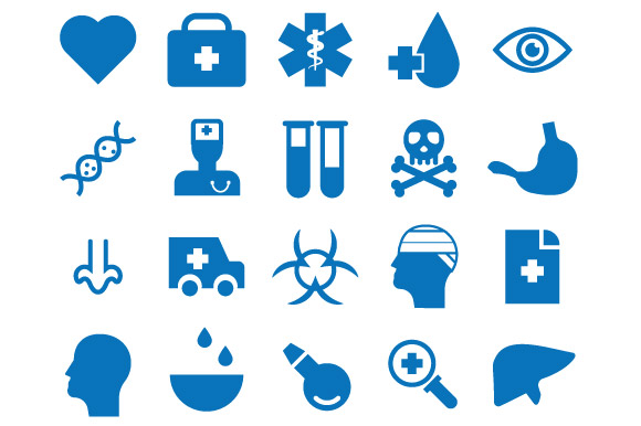 Free 20 Health Vector Icons