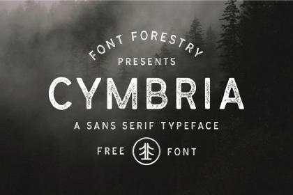 Cymbria Free Font Family