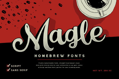 Magle Script Free Demo Typeface