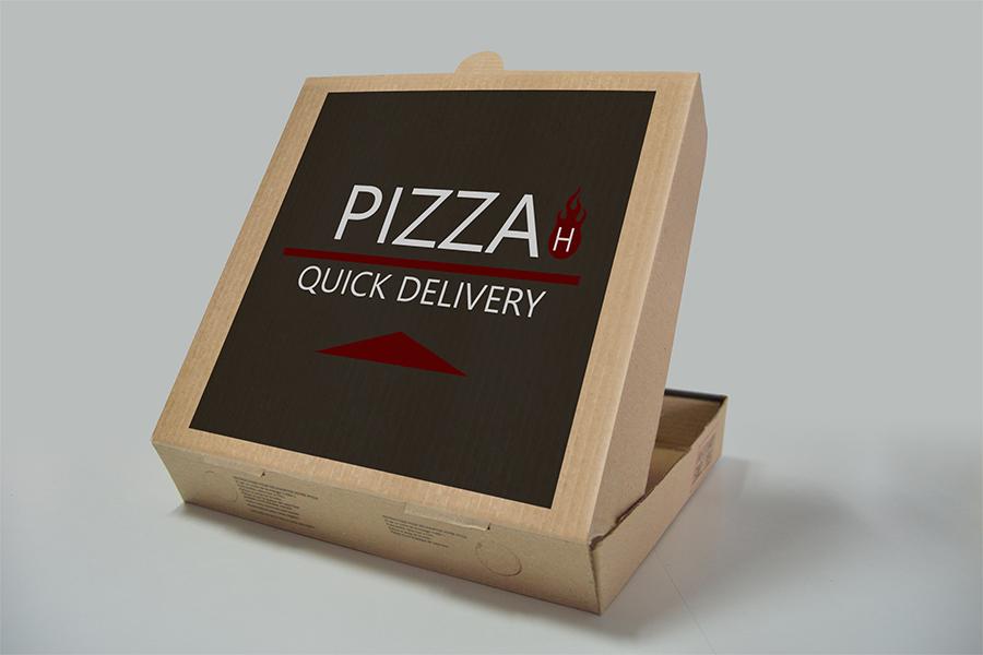 Pizza Logo Design Photoshop