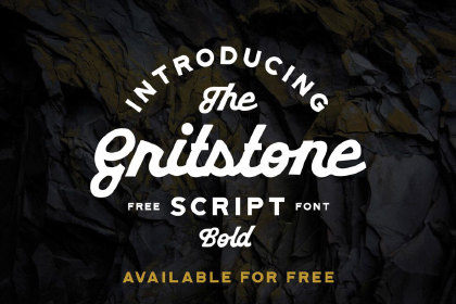 Gritstone Script Free Typeface