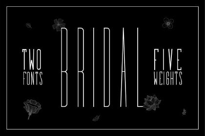Bridal Sans Serif Free Demo