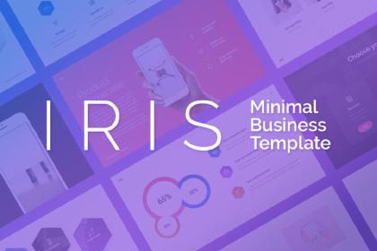 IRIS Free Keynote Template