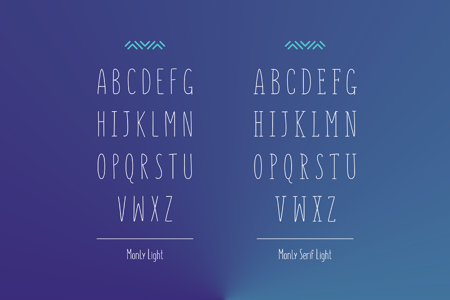 Monly Serif Free Font Family