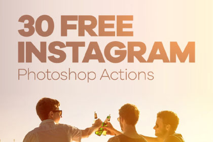 30 Free Instagram Photoshop Actions