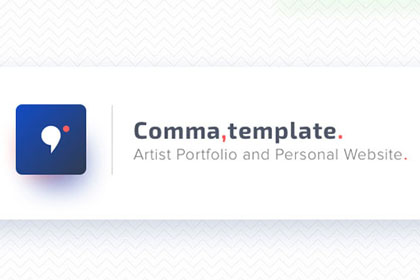 Comma Free Sketch Template