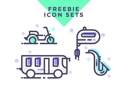 Free Assorted Vector Icon Packs