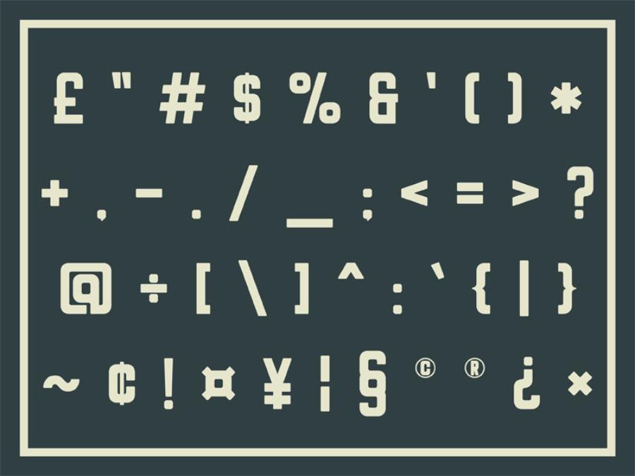 Rheiborn Sans Free Typeface