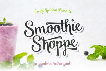 Smoothie Shoppe Free Typeface