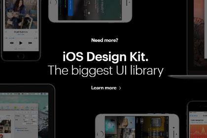 iOS Design Kit Free Demo