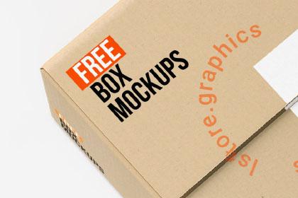 7 Free PSD Box Mockups