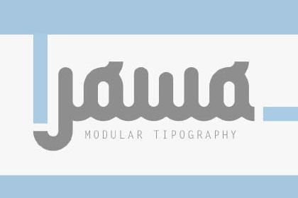 Jowo Free Modular Typography