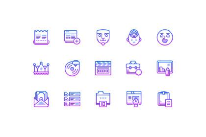 Nolan Free Linear Icon Pack