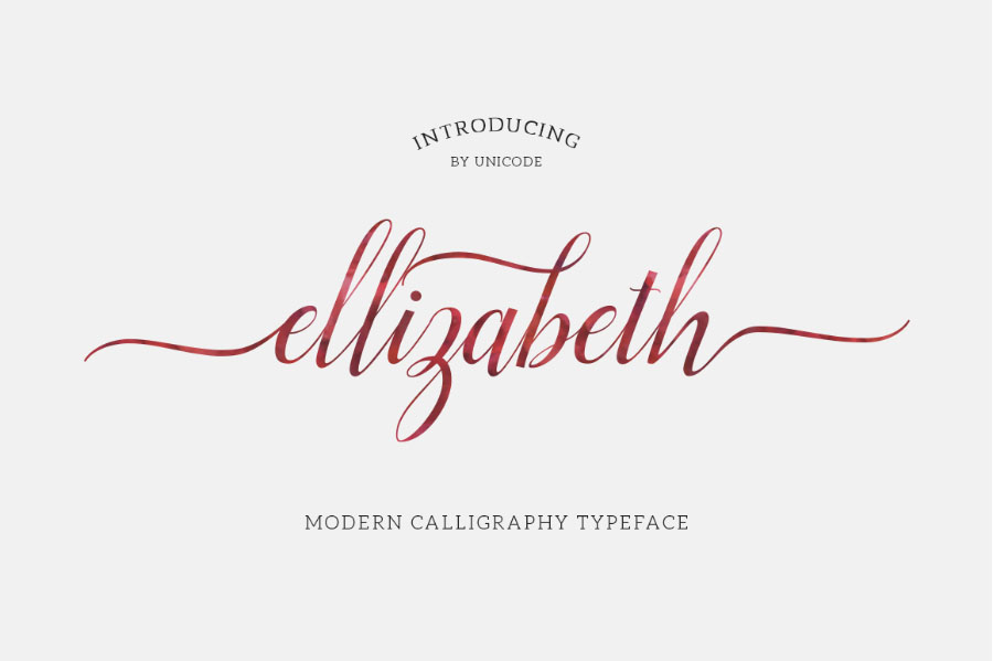 Ellizabeth Script Free Demo