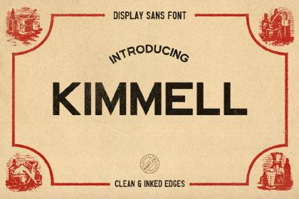 Kimmel Display Sans Free Font
