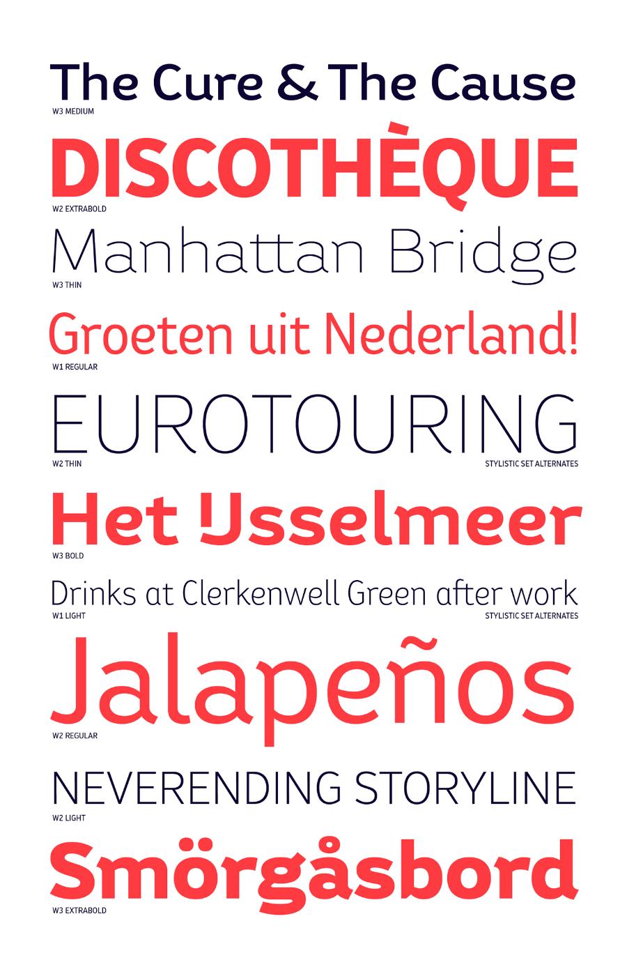 Bw Helder Font Family Free Demo