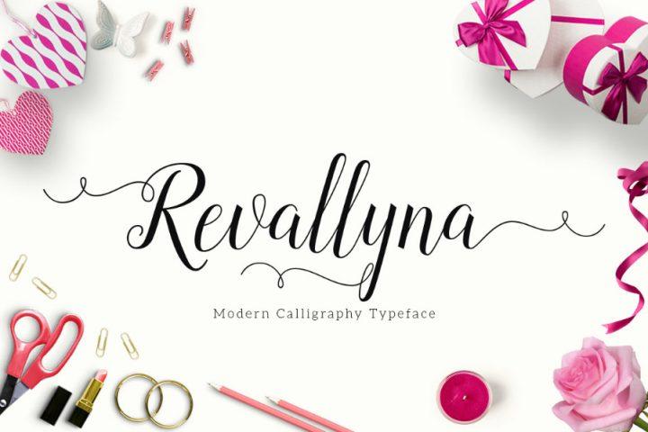 Revallyna Script Free Demo