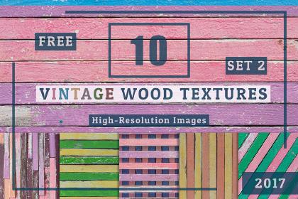 10 Free Vintage Wood Textures