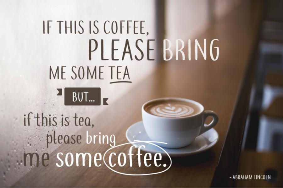 Coffee & Tea Handwriting Font Demo