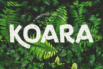 Koara Font Family Free Demo