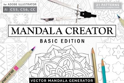Mandala Creator Free Demo