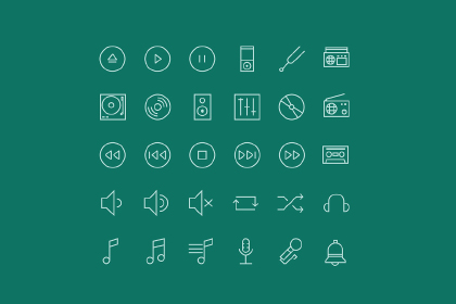 Free Linear Icon Set