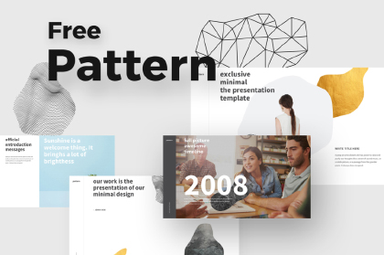 Pattern Free Presentation Template
