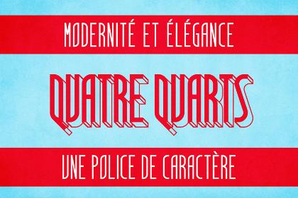 Quatre Quarts Free Font