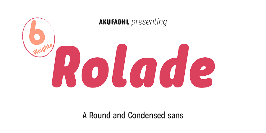 Rolade Typeface Free Demo