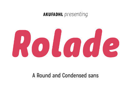 Rolade Typeface Free Demo