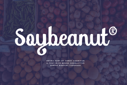 Soybeanut Script Free Demo