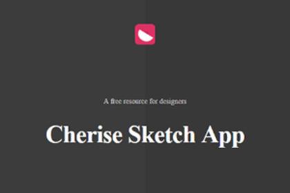 Cherise Free Sketch App UI Kit
