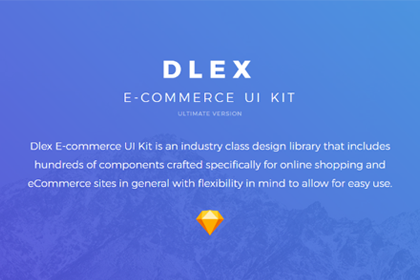 DLEX Ecommerce UI Kit Sample