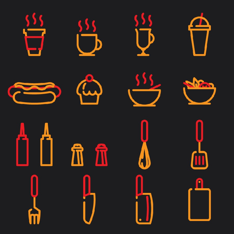 Free Street Food Iconset