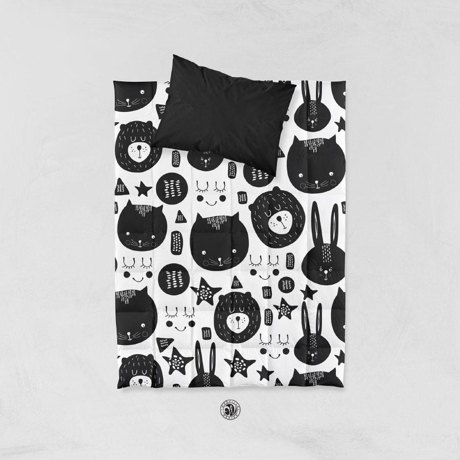 Cute Animal Head Free Pattern