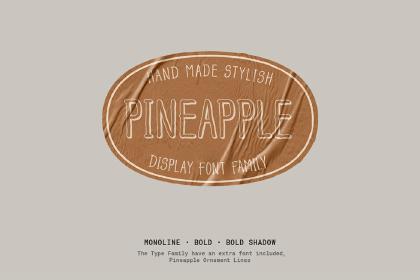 Pineapple Typefamily Free Demo
