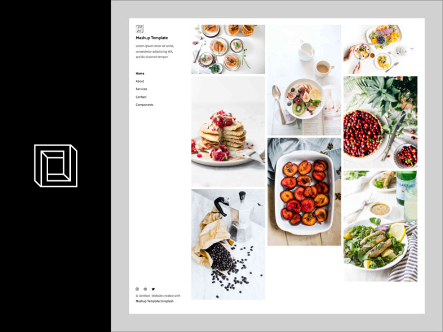 Savory Free Sketch Template