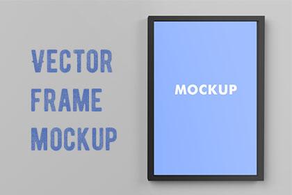 3 Vector Frame Mockups