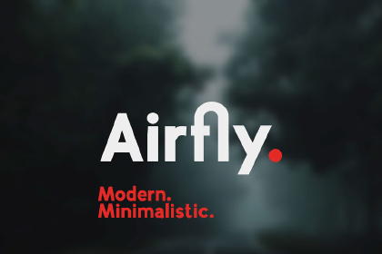 Airfly Typeface Free Demo
