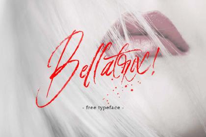 Bellatrix Script Free Font