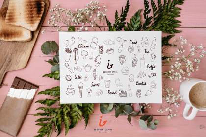 Free Food Vector Doodles