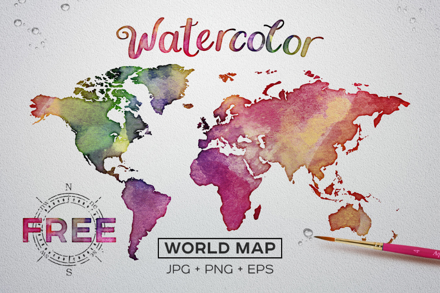 World map poster free download tiredriveeasy world map poster free download gumiabroncs Images