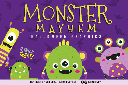 Monster Mayhem Free Characters