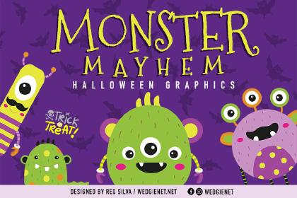 Monster Mayhem Free Characters