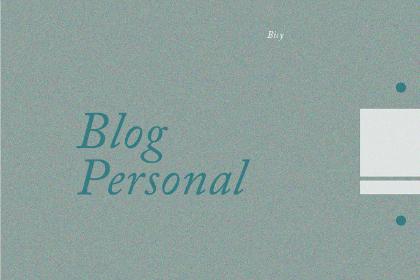 Free Minimal Blog Template