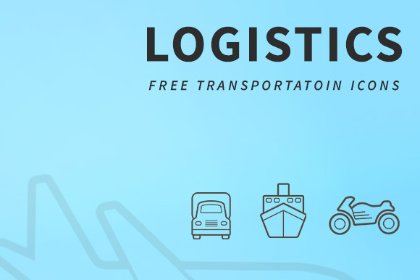 10 Free Transportation Icons