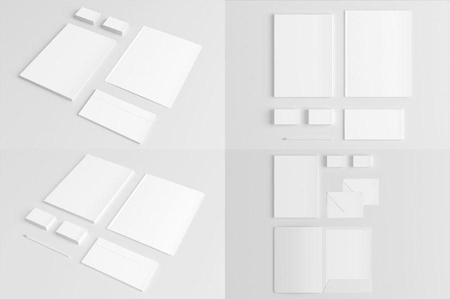 Branding Mockup Set Free Sample