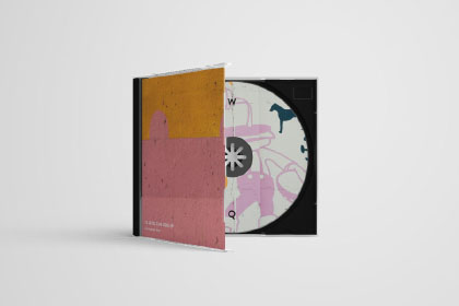 Free CD Case PSD Mockup