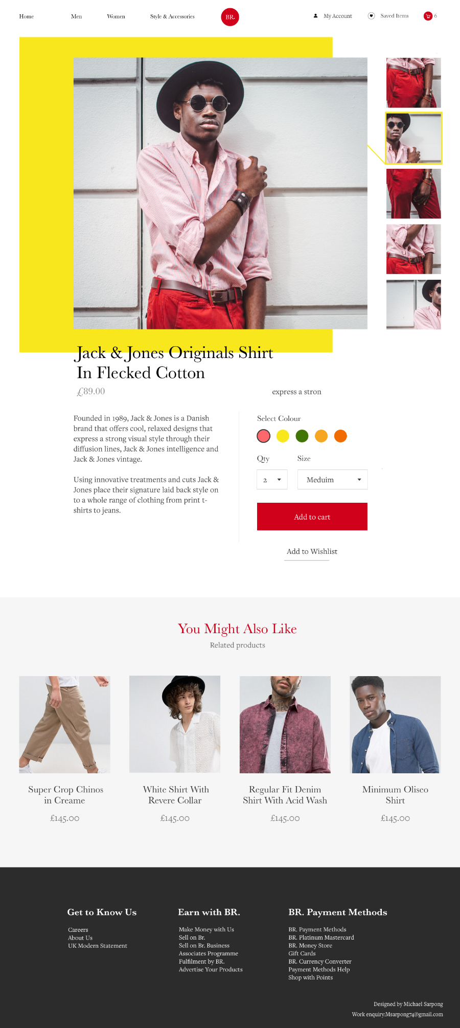Free ECommerce Blog Template
